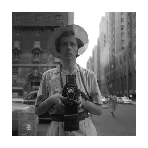 Vivian Maier self portrait - Copyright of Maloof Collection