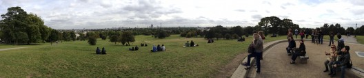 Primrose Hill London iPhone 5 panorama